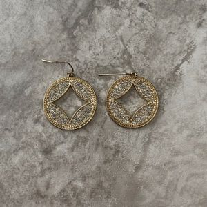 Francesca's Silver and Gold Earrings